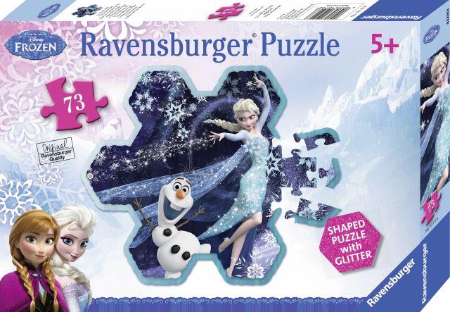 Puzzle Frozen,fulgul de zapada al Elsei,73 pcs