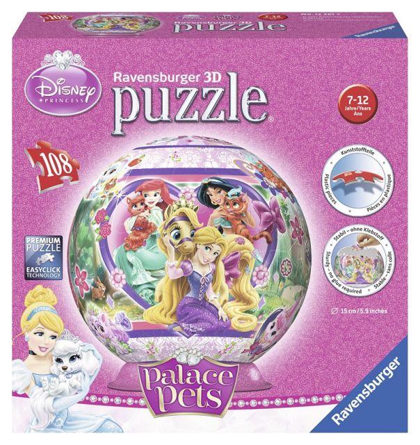 Puzzle 3D Palace Pets,108 pcs