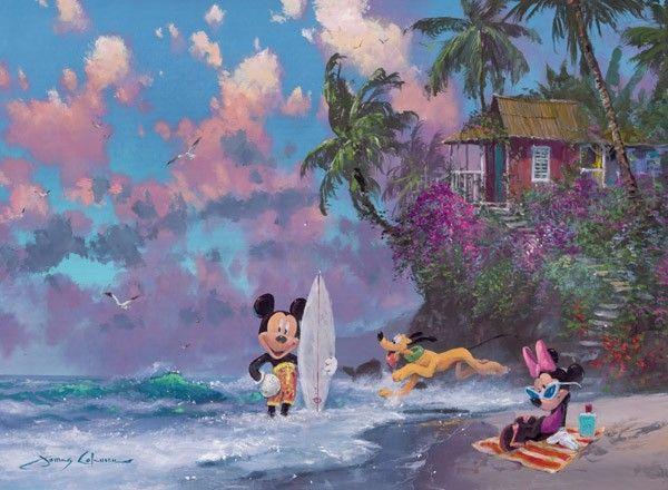 Puzzle Disney la Plaja