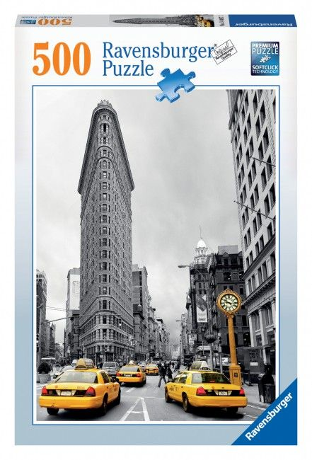 Puzzle Cladirea Flatiron, New York, 500 Piese