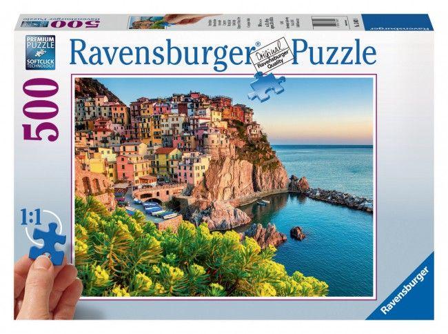 Puzzle Italia Multicolora, 500 Piese