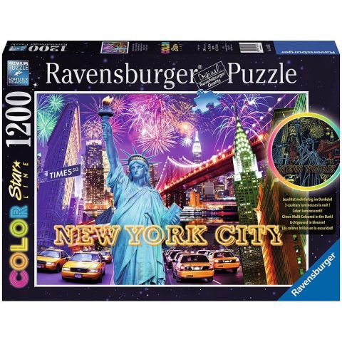 Puzzle Color Starline - New York, 1200 Piese