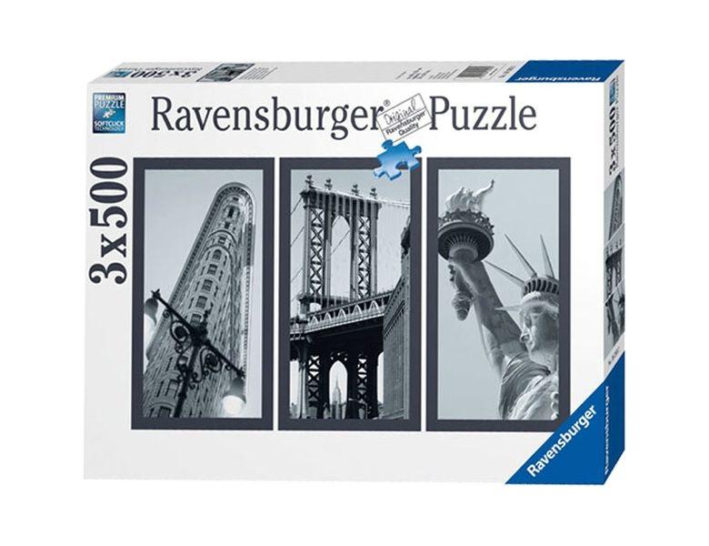 Puzzle Impresii Din New York, 3X500 Piese