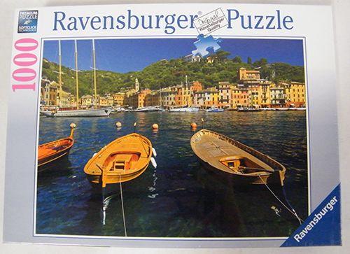 Puzzle Porturi In Portofino, Italia 1000 Piese