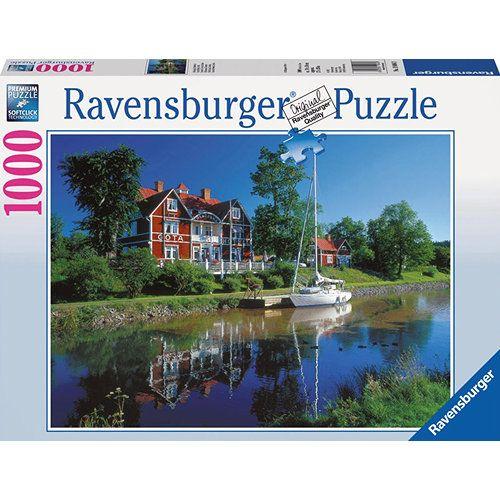 Puzzle Canalul Gota, Suedia 1000 Piese