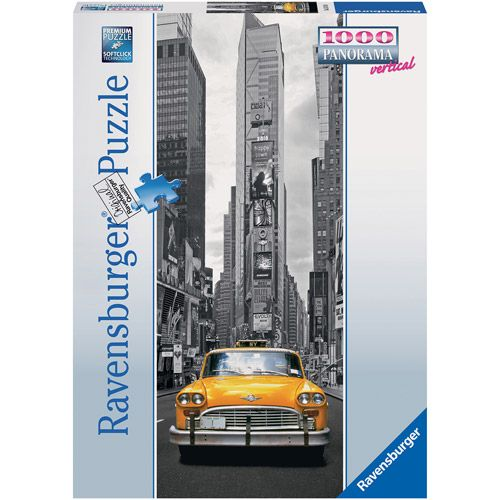 Puzzle Taxiul Din New York 1000 Piese