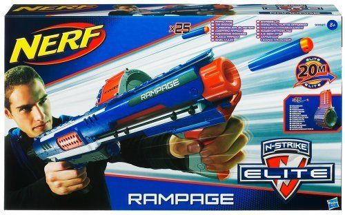 Nerf-Blaster Nstrike Elite Rampage