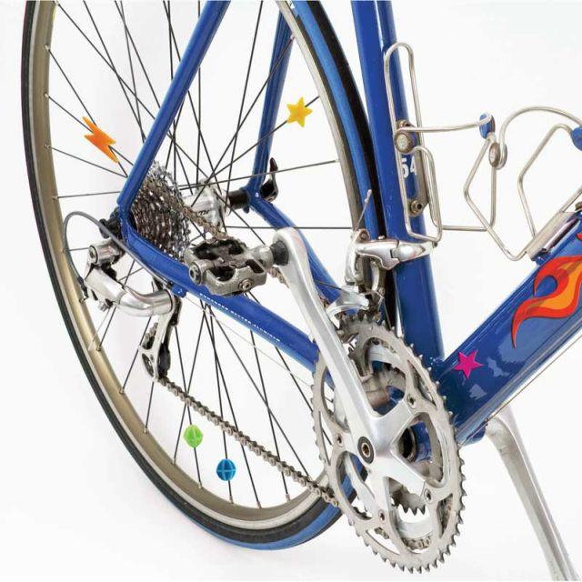 Set de accesorii decorative pentru bicicleta