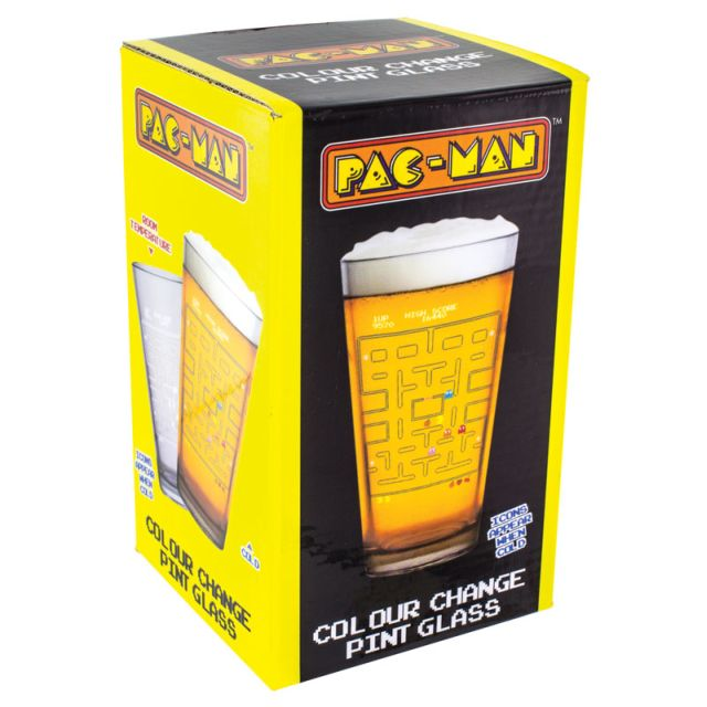 Pahar termosensibil Pac-Man