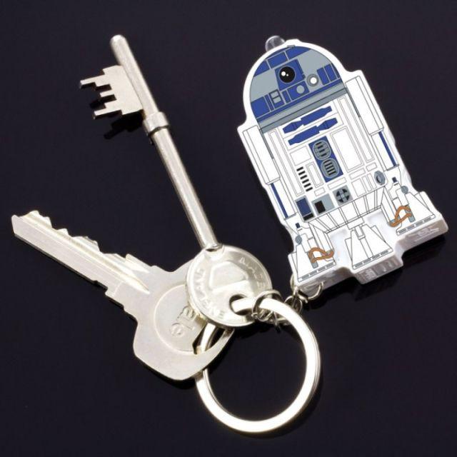 Breloc R2-D2 cu sunet Star Wars