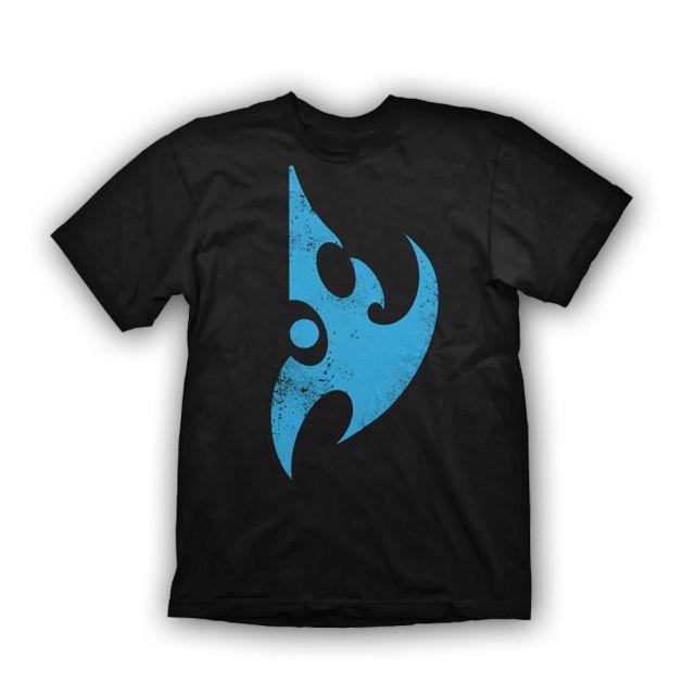 Starcraft 2 T-Shirt Protoss Logo Vintage, L