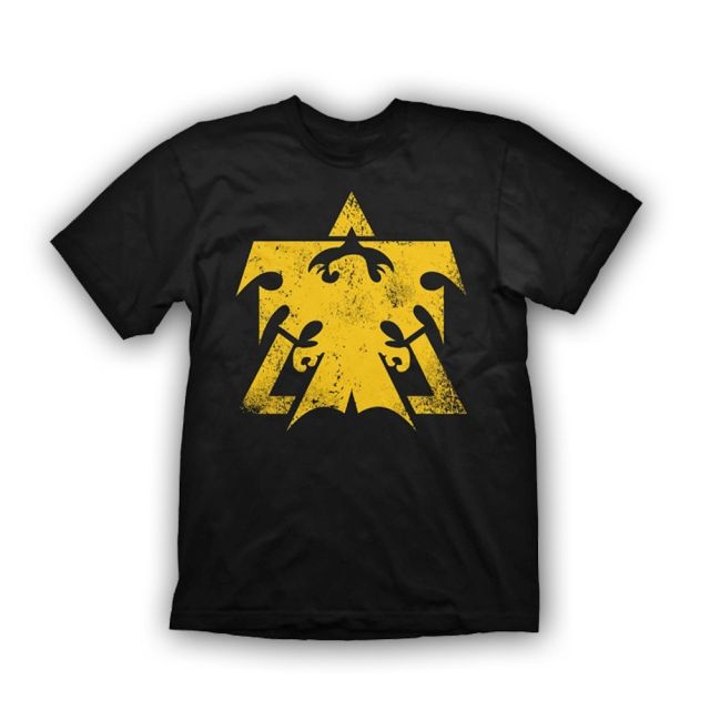 Starcraft 2 T-Shirt Terran Logo Vintage, XL