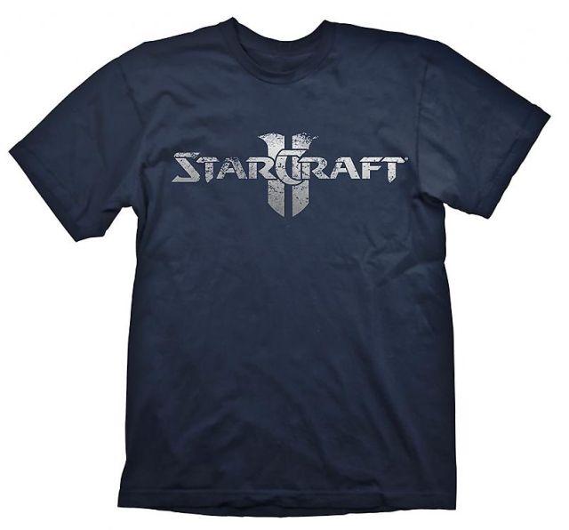 Starcraft 2 T-Shirt Starcraft Logo Silver, M