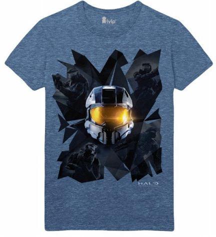 Halo T-Shirt Prisms Blue, XL