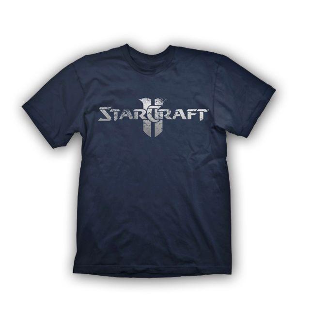Starcraft 2 T-Shirt Starcraft Logo Silver, L