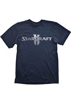 Starcraft 2 T-Shirt Starcraft Logo Silver, XL