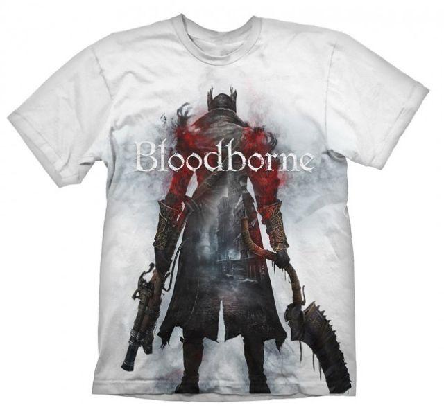Bloodborne T-Shirt Hunter Street White M