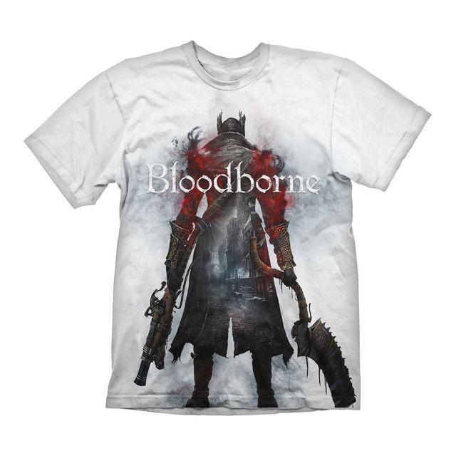 Bloodborne T-Shirt Hunter Street White L