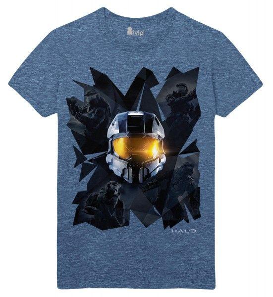 Halo T-Shirt Prisms Blue, M