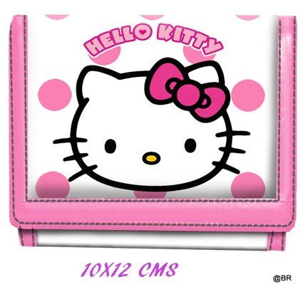 Portofel 12.5x9x2cm,Hello Kitty Dots
