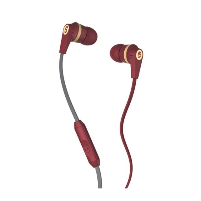 Casti Skullcandy Ink`d Famed/Red/Cream