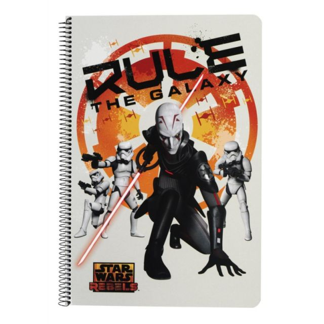 Caiet spira A4,80file,StarWars Rebels