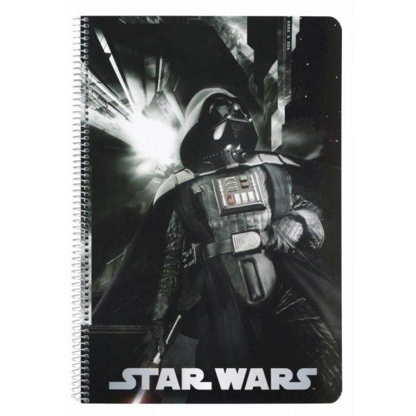 Caiet spira A4,80file,StarWars Vader