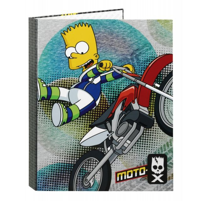Caiet mecanic A4,4inele,The Simpsons