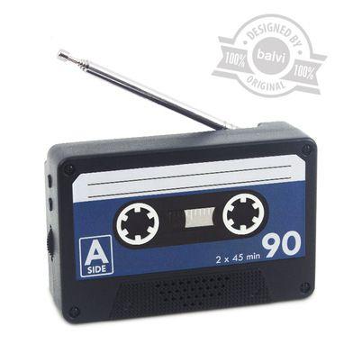 Radio magnetic forma caseta audio