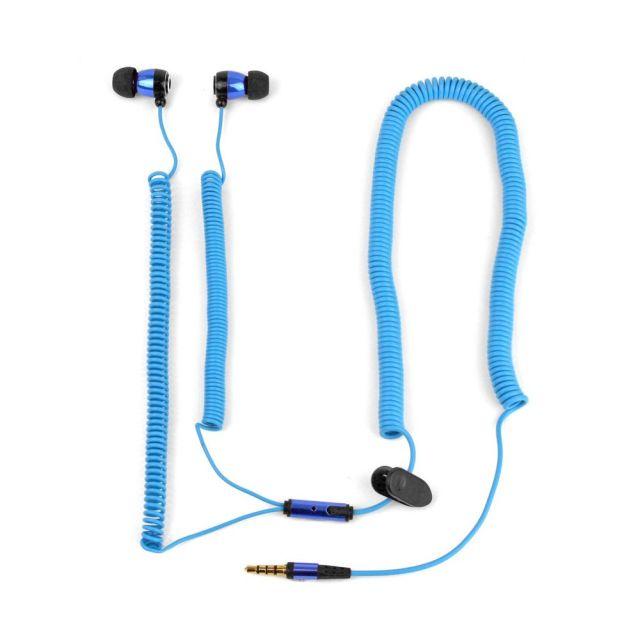 Casti telefon, albastru