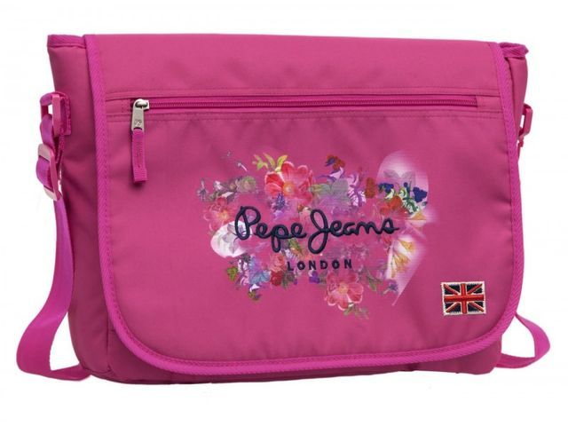Geanta laptop 38cm,roz,Pepe Jeans Margot