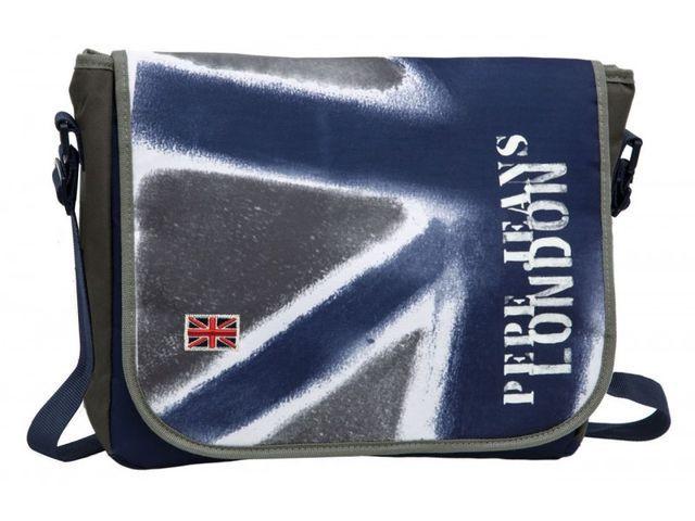 Geanta laptop 38cm,albs,Pepe Jeans Camu