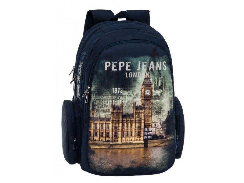 Rucsac 44cm,2comp.,Pepe Jeans London