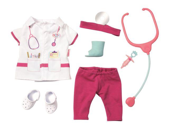 Baby born-Set hainute doctor