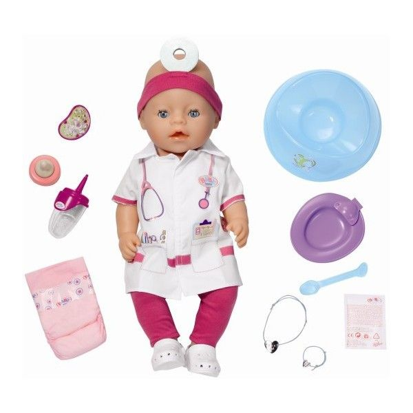 Baby born-Papusa doctor