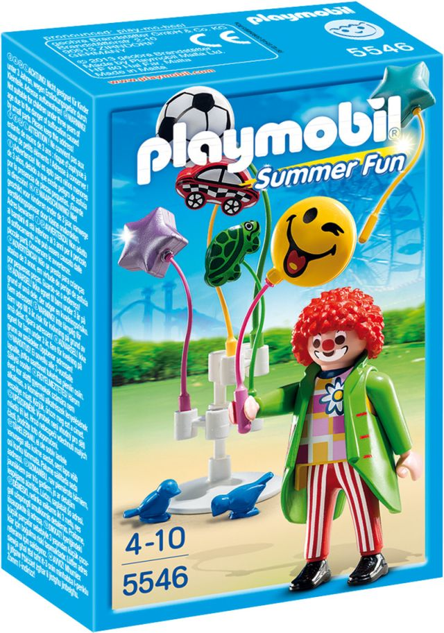 Playmobil-Vanzatorul de baloane,parcul de distractie