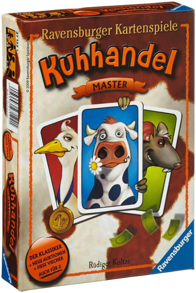 Ravensburger-Joc Master Kuhhandel,10+