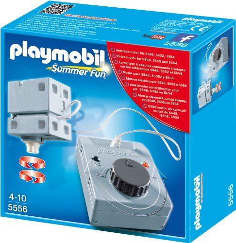 Playmobil-Motor electric,parcul de distractii