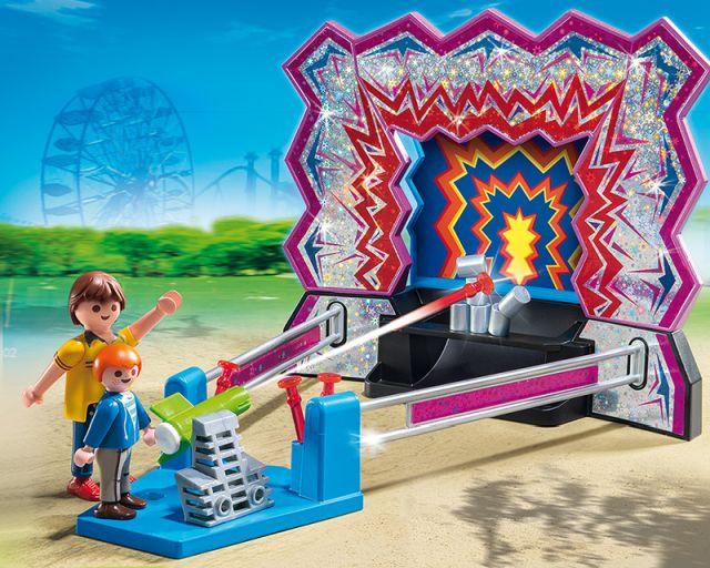 Playmobil-Tir cu pusca,parcul de distractie