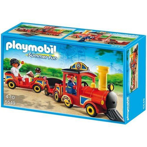 Playmobil-Trenul copiilor,parcul de distractie