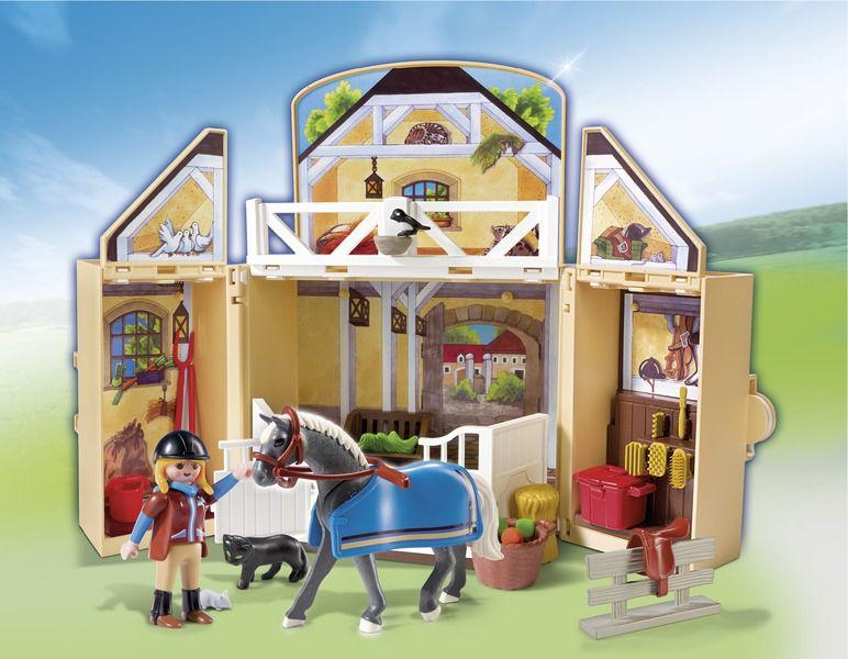 Playmobil-Cuibul calutilor