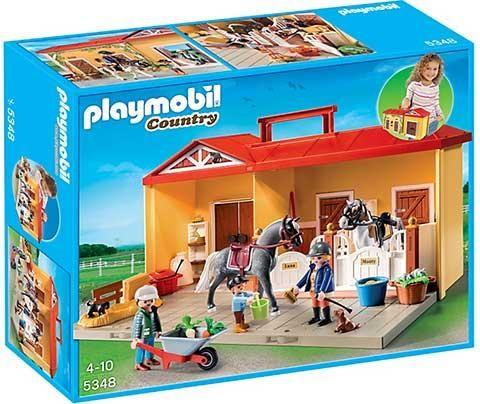 Playmobil-Grajd cu ponei,set mobil