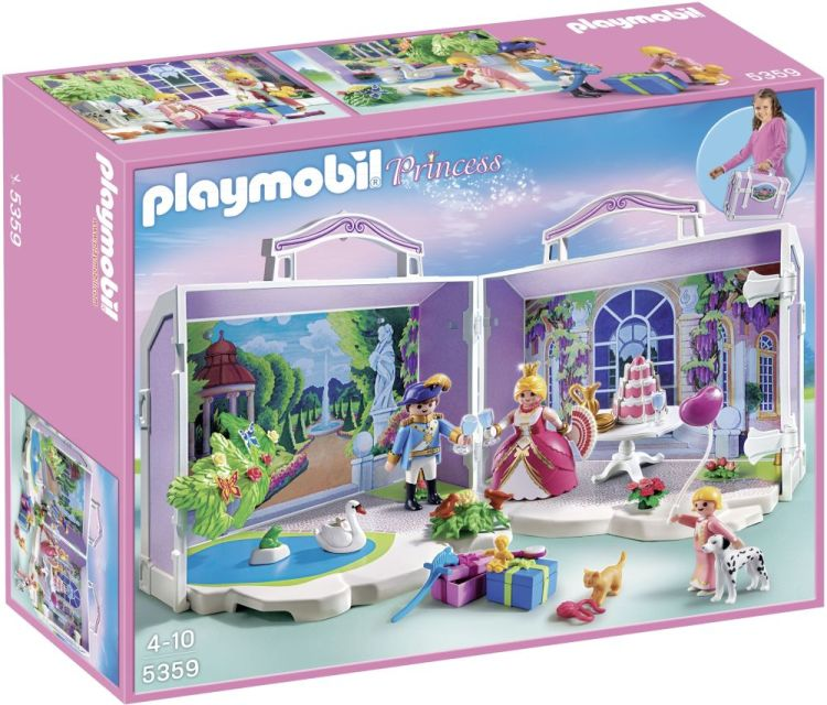 Playmobil-Ziua printesei,set mobil