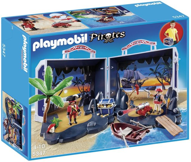 Playmobil-Insula piratilor,set mobil