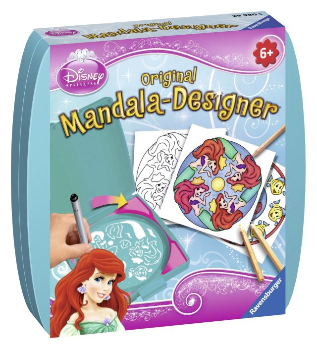 Set creativ mandala,mini,Ariel,6+