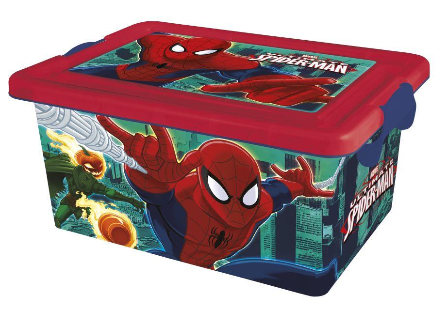 Cutie depozitare,Spiderman,7L