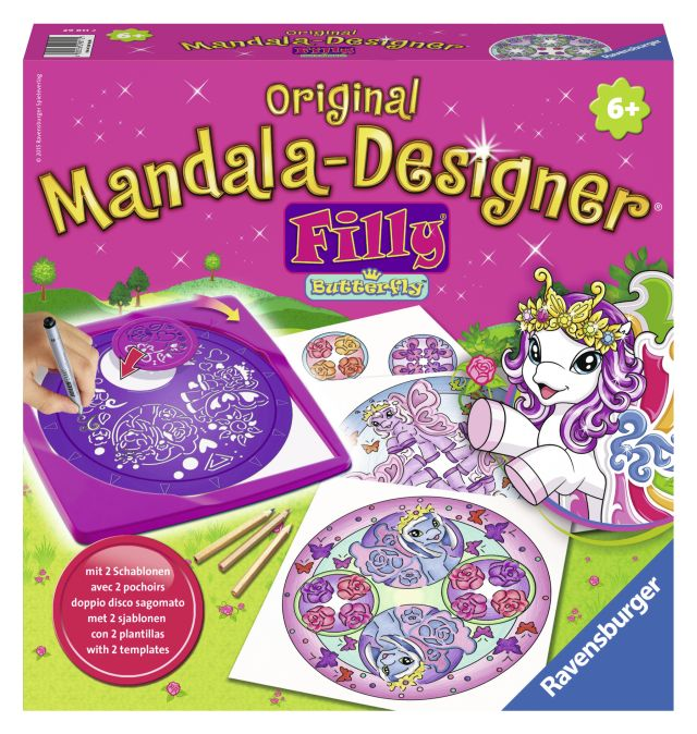 Set creativ mandala,2in1,ponei,6+