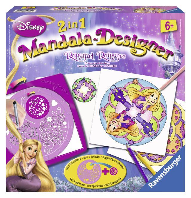 Set creativ mandala,2in1,Rapunzel,6+