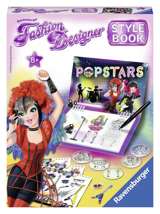 Set creativ Fashion designer,Popstar,8+