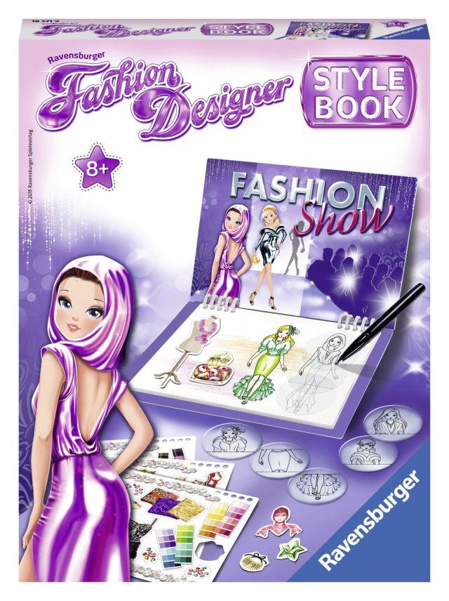 Set creativ Fashion designer,Prezentare,8+